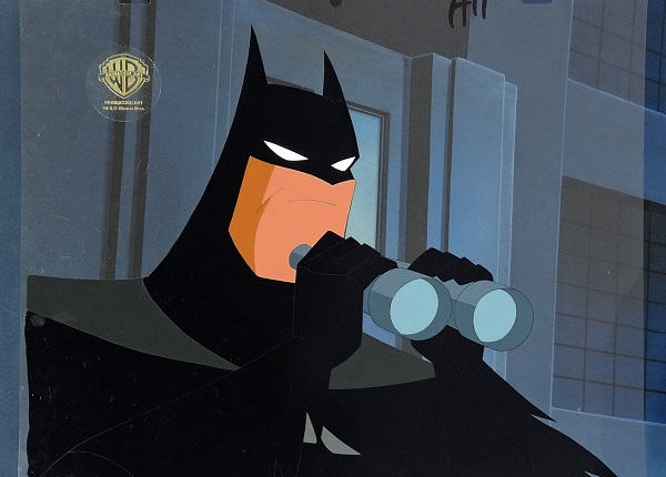 "Batman ""Worlds finest Pt.2"" Original Production Cel 28 x 36 cm © Warner Bros."