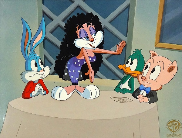 "Looney Tunes ""Tiny Toons Adventures - Life in the Nineties"" Original Production Cel 28 x 36 cm © Warner Bros."