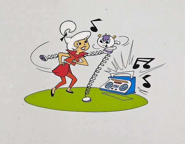 "The Jetsons ""Judy"" Original Production Cel 27 x 32 cm"
