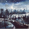 "Bernhard Vogel ""London - view from st pauls"" mixed media 50 x 100 cm"