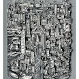 "Charles Fazzino ""Liberty Stands In The Center Of It All NYC"" 3D-Siebdruck 80 x 60 cm"