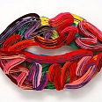 "David Gerstein ""Graffiti Lips"" papercut 56 x 76 cm"