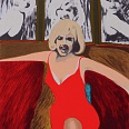"James Francis Gill ""Marilyn Golden Anniversary"" Siebdruck Edition 2014 60 x 45 cm"