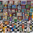 "James Rizzi ""It's time to buy a new TV"" 3D-Siebdruck 66 x 91 cm"
