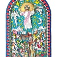 "James Rizzi ""Jesus Is Life"" 3D Siebdruck 50 x 40 cm"