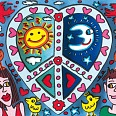 "James Rizzi ""Look at how I love you"" 3D-Siebdruck (drucksigniert) 20 x 24 cm"