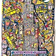 "James Rizzi ""The King Of New York"" 2007, 3D Siebdruck 40 x 50 cm"