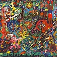 "James Rizzi ""The Olympic Spirit"" 3D Siebdruck 52 x 78 cm"