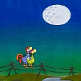 "Mordillo ""Moonlight"" Fine Art Print 47 x 60 cm"
