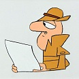 "Pink Panther ""Inspector Clouseau"" Original Production Cel 26 x 32 cm"