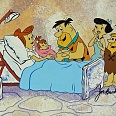 "The Flintstones ""The Blessed Event"" Hand Painted Limited Edition Cel on a lithographic background 24 x 38 cm"