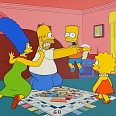 """The Simpsons Play Monopoly"" 20th Century Fox Original hand painted Production Cels Unique 28 x 32 cm"