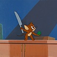 "Tom und Jerry - the Movie ""Jerry"" Original Producion Cel 27 x 36 cm"