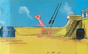 Pink Panther 2 Original Production Cel 27 x 43 cm web
