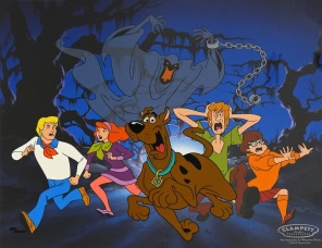 Scooby Doo Relp Its a green ghost Sericel Limited Edition 1000 30 x 34 cm Warner Bros web